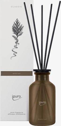 ipuro Raumduft 'Cuir' in braun / schwarz, Produktansicht