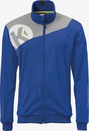 KEMPA Jacke in blau / grau / weiß: Frontalansicht