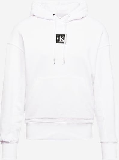 Calvin Klein Jeans Sweat-shirt en blanc, Vue avec produit
