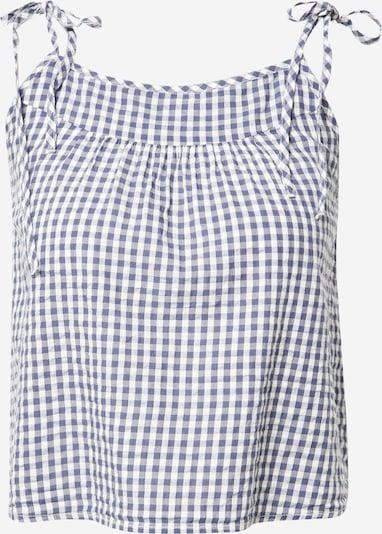 AERIE Schlafshirt 'Seersucker Swing Cami' in blau / weiß, Produktansicht