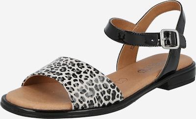 CAPRICE Sandály - šedá / černá / bílá, Produkt