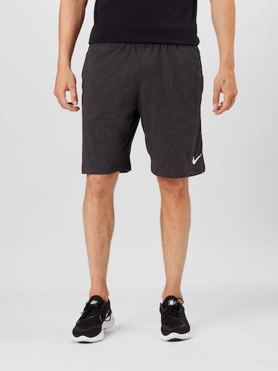 NIKE Športové nohavice - tmavosivá, Model/-ka