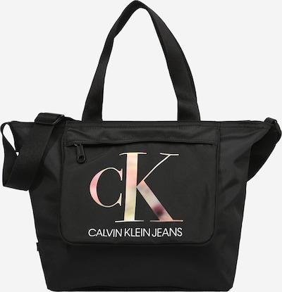 Calvin Klein Jeans Μεγάλη τσάντα σε ανάμεικτα χρώματα / μαύρο / λευκό, Άποψη προϊόντος