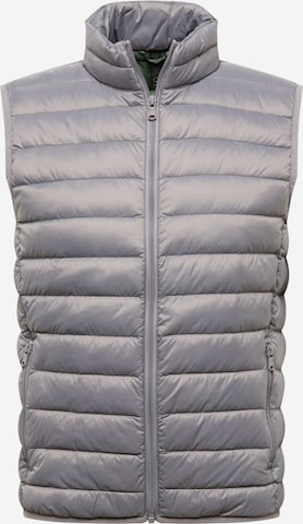 UNITED COLORS OF BENETTON Vest in Grey