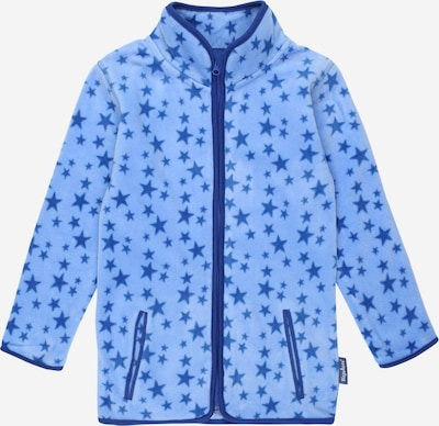 PLAYSHOES Fleece jacket in Navy / Light blue, Item view