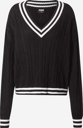 Megztinis iš Urban Classics, spalva – juoda / balta, Prekių apžvalga