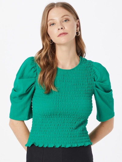 JDY Bluse in grün, Modelansicht