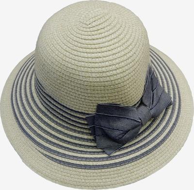 Chaplino Glockenhut in beige / dunkelblau, Produktansicht