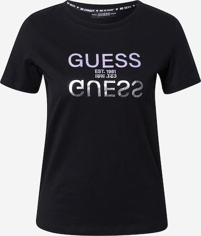 Tricou 'GLENNA' GUESS pe negru / argintiu, Vizualizare produs