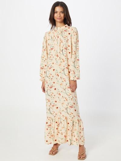 Trendyol Kleid in creme / mischfarben, Modelansicht