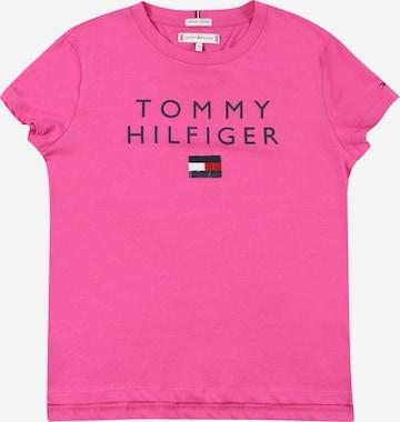 TOMMY HILFIGER Särk, värv roosa