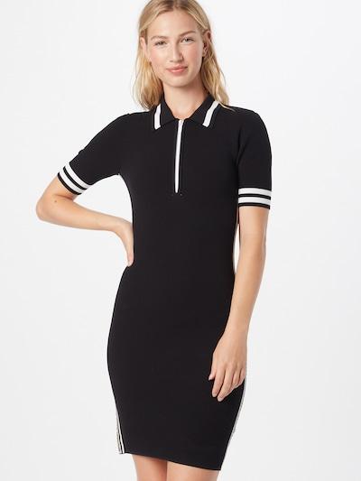 MICHAEL Michael Kors Kleid in beige / schwarz / weiß, Modelansicht