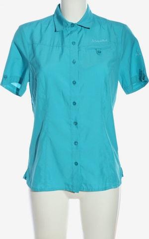Schöffel Kurzarmhemd in S in Blau