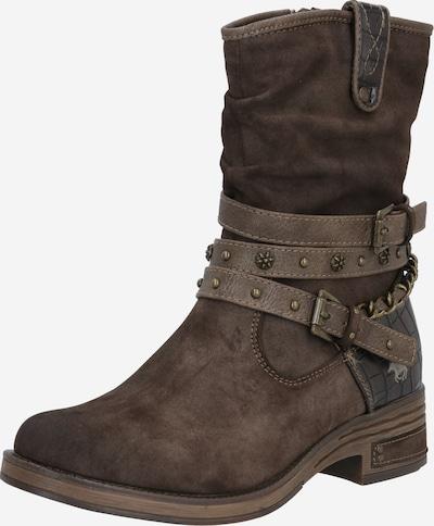 MUSTANG Stiefel in dunkelbraun, Produktansicht