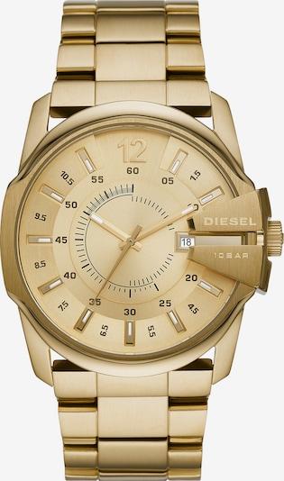 DIESEL Uhr in gold, Produktansicht