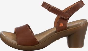 ART Strap Sandals in Brown