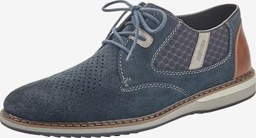 Chaussure à lacets RIEKER en bleu