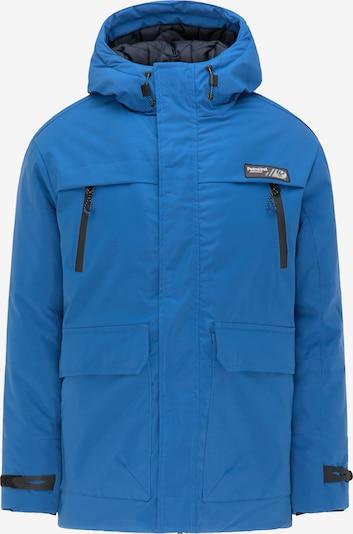 Petrol Industries Winterjas in de kleur Blauw, Productweergave