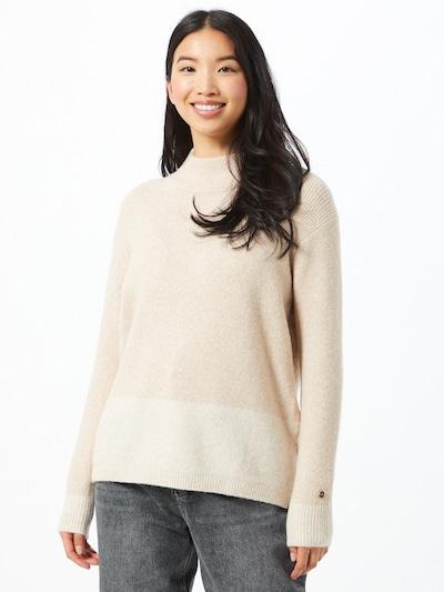 Calvin Klein Pull-over en beige / beige clair: Vue de face