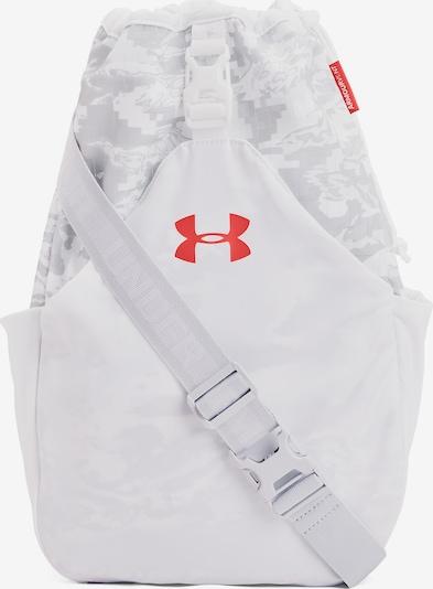 UNDER ARMOUR Tasche in hellgrau / neonrot, Produktansicht