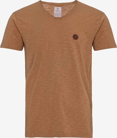 Redbridge T-Shirt Houston mit Rundhals in braun, Produktansicht