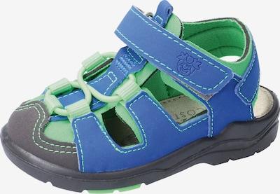 RICOSTA Zapatos abiertos 'Gery' en azul / verde / negro, Vista del producto