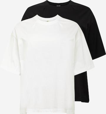 Urban Classics Curvy T-Shirt in Weiß
