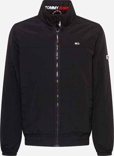 Tommy Jeans Přechodná bunda - červená / černá / bílá, Produkt