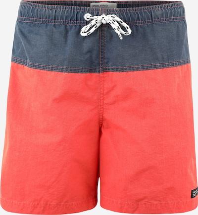 BLEND Badeshorts in dunkelblau / rot, Produktansicht