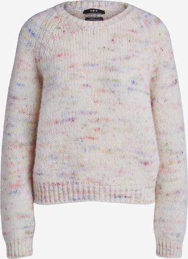 SET Pullover in mischfarben / weißmeliert, Produktansicht