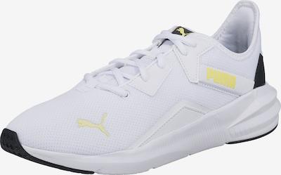 PUMA Sportschuh 'Platinum' in gelb / schwarz / weiß, Produktansicht