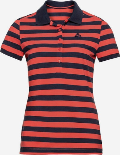 ODLO Poloshirt ' Polo shirt s/s CONCORD ' in rot / schwarz, Produktansicht