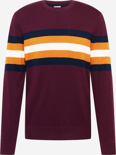 GAP Пуловер в нощно синьо / жълто / слива / бяло, Преглед на продукта