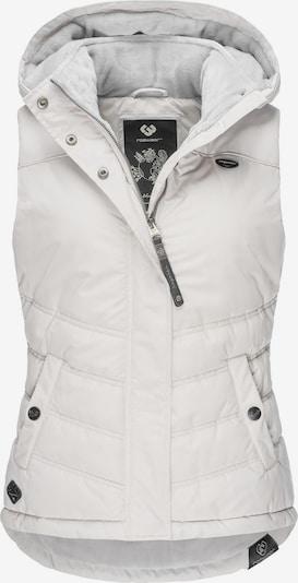 Ragwear Weste 'Hesty' in weiß, Produktansicht