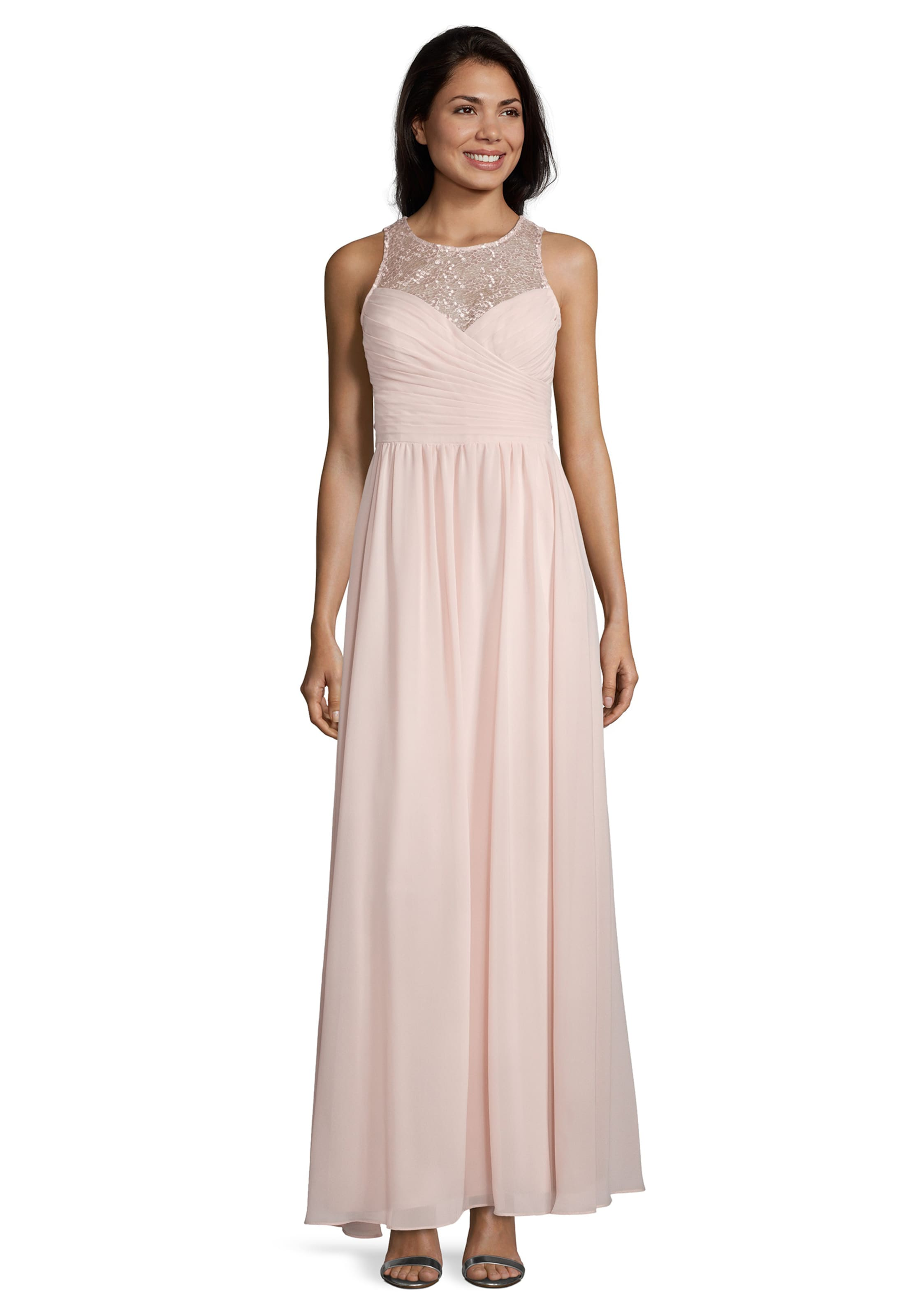 Vera Mont Abendkleid in beige / rosa