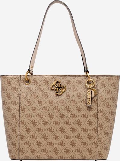 GUESS Nakupovalna torba 'Noelle' | svetlo rjava barva, Prikaz izdelka