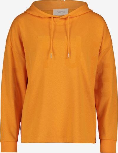 Cartoon Sweatshirt in orange, Produktansicht