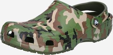Sabots Crocs en vert