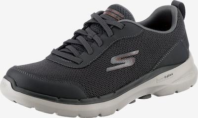 SKECHERS Sneaker 'Go Walk 6' in anthrazit / weiß, Produktansicht