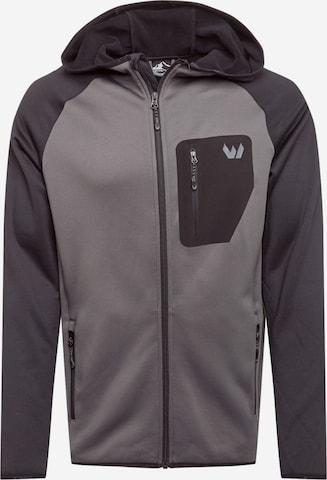 Whistler Fleecejacke 'Salen' in Grau