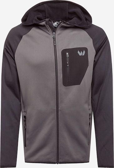 Whistler Funkcionāla flīsa jaka 'Salen' sudrabpelēks / melns, Preces skats