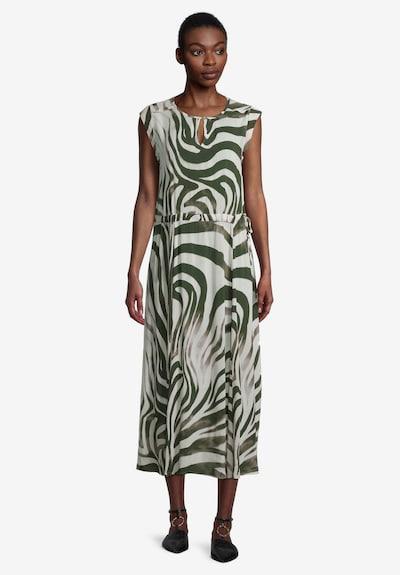 Cartoon Kleid in creme / khaki, Modelansicht