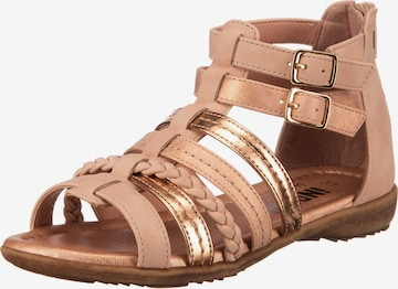 INDIGO Sandale in Gold