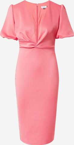 Chi Chi London Sukienka koktajlowa w kolorze różowy