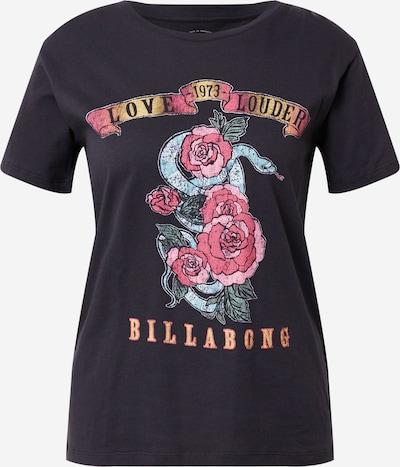 BILLABONG Majica 'LAZY DAYS' u svijetloplava / žuta / roza / roza / crna, Pregled proizvoda