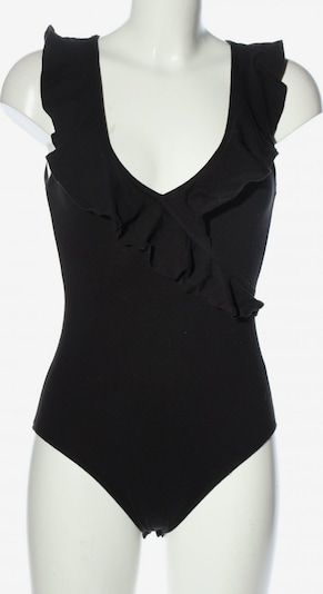 H&M Basic-Body in S in schwarz, Produktansicht