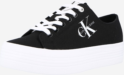 fekete / fehér Calvin Klein Jeans Rövid szárú edzőcipők 'VULCANIZED', Termék nézet