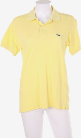 LACOSTE Top & Shirt in S in Yellow