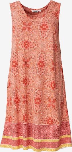 Indiska Robe d'été 'Danylynn' en jaune / orange / corail, Vue avec produit