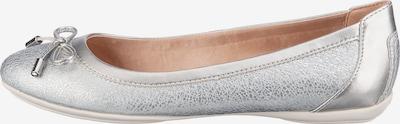 GEOX Ballerinas in silber, Produktansicht